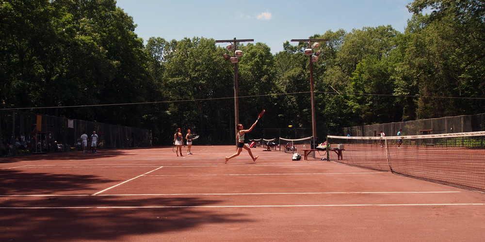 Clay Courts At Copper Valley Club Copper Valley Cheshire S Tennis